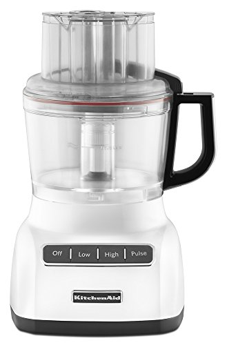 KitchenAid KFP0922WH 9-Cup Food Processor with Exact Slice System - White (Blender Food Processor Kitchenaid compare prices)