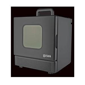 iWavecube IW600 600-Watt Personal Desktop Microwave Oven in Black
