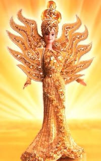 Hot Barbie Bob Mackie Goddess of the Sun (1995)