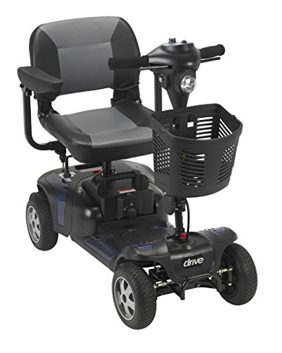 Drive Medical Phoenix 4 Wheel Heavy Duty Scooter Includes 5 Year Extended Warranty