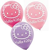 Hello Kitty 12in Balloons 6ct