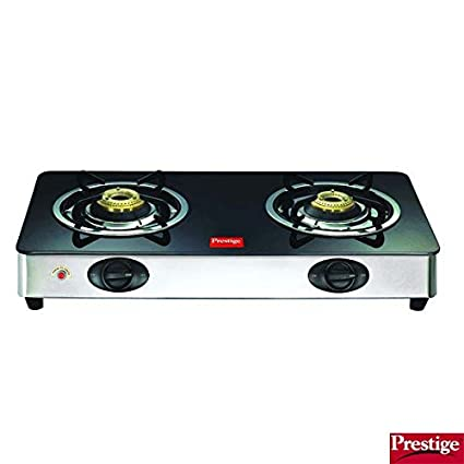 GT 02 SS AI Glass Gas Cooktop (2 Burner)