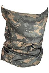 ZANheadgear Polyester 'Digi ACU Camouflage' Design Motley Tube (Multicolor, One Size)