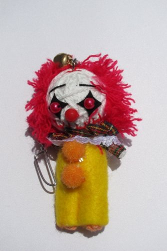 Pennywise Clown String Doll Keychain Ornament 2012 New! - 1
