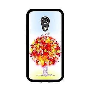Vibhar printed case back cover for Motorola Moto G (2nd Gen) ColorfulTree