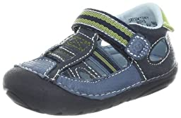 Stride Rite SRT SM Tony Sandal (Infant/Toddler),Navy/China Blue,3 M US Infant