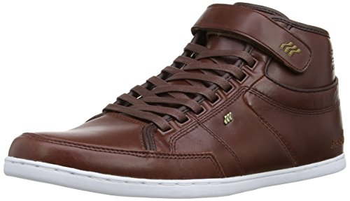 Boxfresh Swich NC Leather Schuhe dark brown-bronze - 44