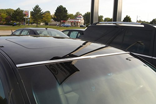 DIY 2 Piece Chrome Roof Molding Trim Kit (05 Ford Mustang Bumper Parts compare prices)