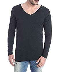 Jack & Jones Men's Cotton  Sweater (5712834659952_Black_X-Large)
