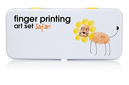 Finger Printing Art Set - Safari Edition - 1
