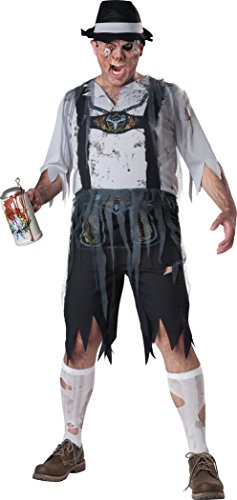 InCharacter Costumes Men's Plus-Size Oktoberfeast Zombie Costume