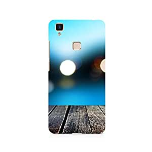 TAZindia Designer Printed Hard Back Case Mobile Cover For Vivo V3 Max