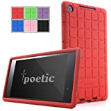 Poetic GraphGrip Case for Google Nexus 7 FHD 2nd Gen 2013 Android Tablet Red (3 Year Manufacturer Warranty From Poetic)