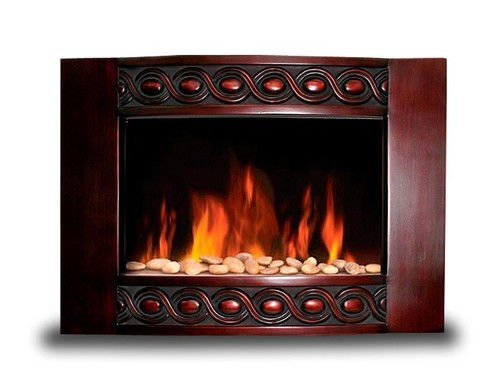 New 1500W Deluxe Wood Wall Mount Electric Fireplace Space Heater 1500 Watts Bg04