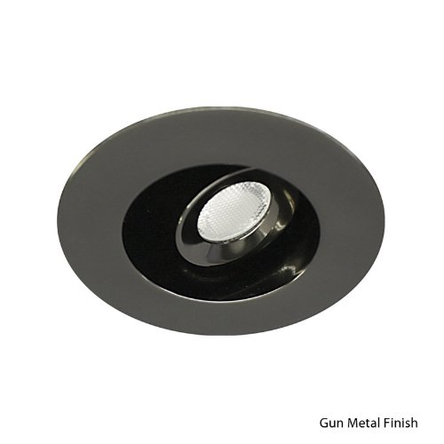 Wac Lighting Hr-Led212E-35-Gm Ledme Mini 2-Inch Recessed Downlight - Adjustable - Round Trim - 3500K