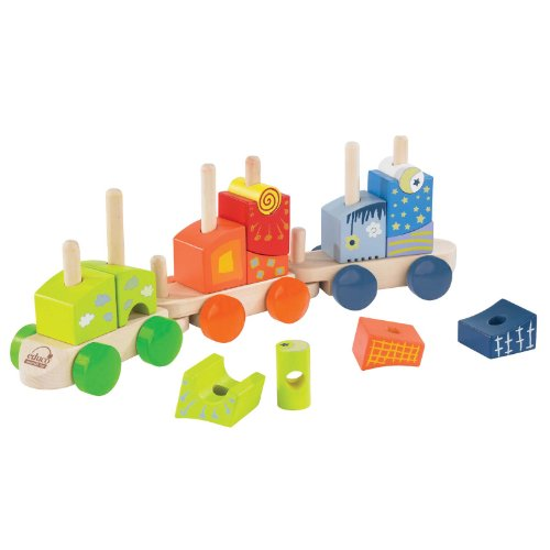 Educo Fantasia Stacking Block Train