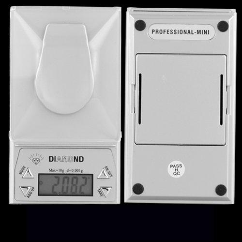BALANCE DE POCHE ELECTRONIQUE PRECISION 0.001-10 GRAMME 4 UNITES