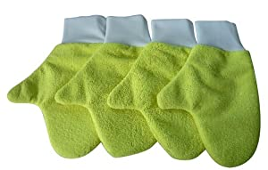Zwipes 758 Quick Cleaning Dust Mitt - Pack of 4