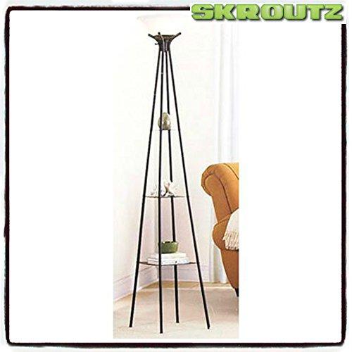 skroutz elegant and decorative mainstays etagere 71 floor. Black Bedroom Furniture Sets. Home Design Ideas