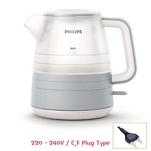 Philips HD9341 Daily Collection Electric Kettle 1L 2000W 220V See-through Design (Electric Kettle 2000w compare prices)