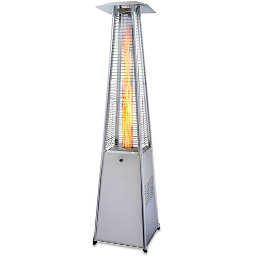 Garden-Radiance-GRP4000SS-Dancing-Flames-Pyramid-Outdoor-Patio-Heater-with-Stainless-Steel-Base