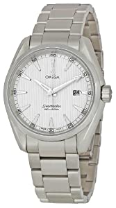 Omega Men's 231.10.39.61.02.001 Seamaster Silver Dial Watch by Omega