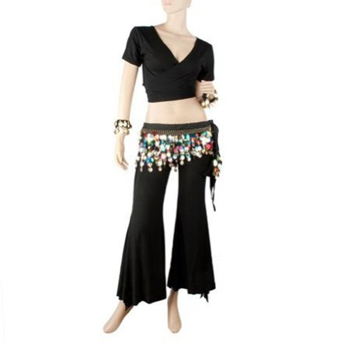 [BellyLady Practice Belly Dance Costume] (Made To Measure Belly Dance Costumes)