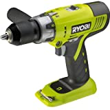Advanced Royobi ProGrade LCDI1802M ONE+ 18v Cordless 2 Speed Combi Drill without Battery or Charger - Requires Separate ONE+ Battery & Charger [Pack of 1] w/Extended Warranty