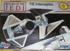 Return of the Jedi Tie Interceptor - Buy Return of the Jedi Tie Interceptor - Purchase Return of the Jedi Tie Interceptor (Amt and MPC, Toys & Games,Categories,Construction Blocks & Models,Construction & Models,Vehicles,Spacecraft)