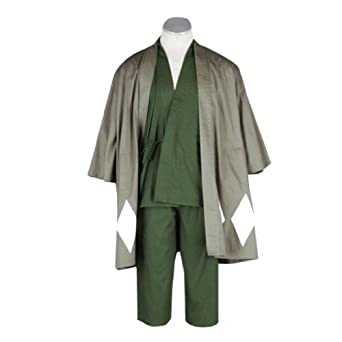 Bleach Cosplay Costume -Urahara Kisuke 1st Short Kid Large
