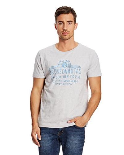 Arqueonautas Camiseta Manga Corta Shirt Gris Jaspeado