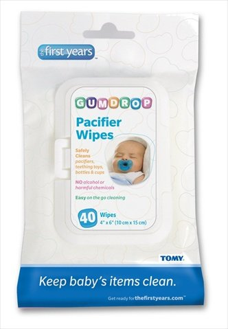 The First Years GumDrop Pacifier Wipes - 40 - 1