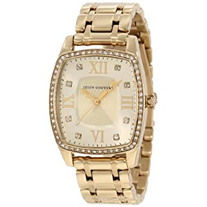 Juicy Couture Women's 1900974 Beau Gold Bracelet Watch