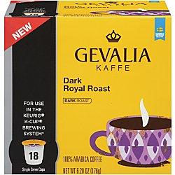 Gevalia Dark – Royal Roast – Coffee 108 ct