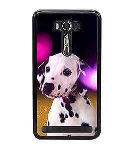ifasho Designer Phone Back Case Cover Asus Zenfone Selfie ZD551KL ( Pink Black Colorful Pattern Design )