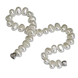 Laura Lively White Mother of Pearl Necklace