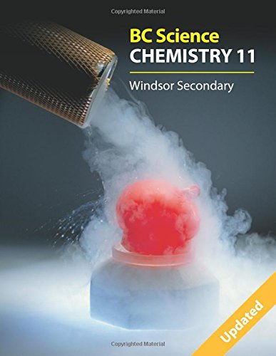 Bc Science Chemistry 11: Windsor Secondary