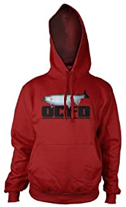 Hooked Fishing Hoodies by wantAtshirt S to 2XL - OCFD - Obsessive Compulsive Fishing Disorder