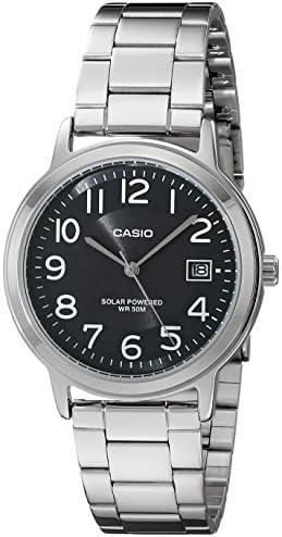 Casio Unisex Silver-Tone Men's Watch