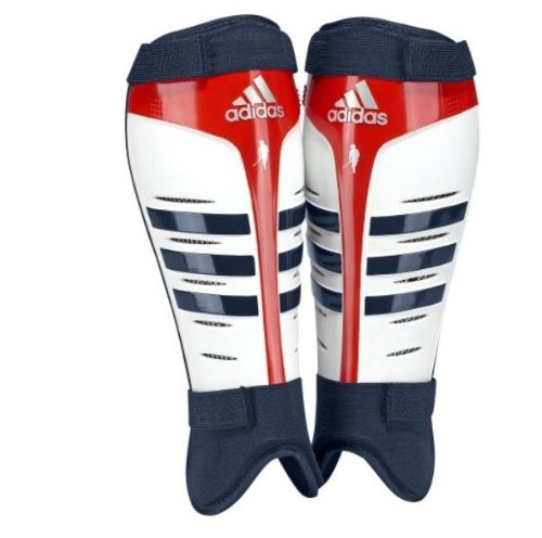 Adidas Adistar Team GB hockey Shin pads (White, Large)