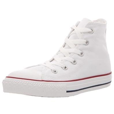 Converse Chuck Taylor All Star Core Hi, Baskets mode mixte enfant - Blanc (Blanc Optical), 27 EU