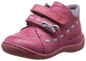 Kickers Gemma - Primeros Pasos de cuero Bebé - niña por Kickers en BebeHogar.com