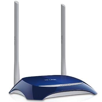 Router inalámbrico N a 300Mbps, Atheros, 2T2R, 2.4GHz, 802.11n/g/b, Switch de 4 puertos integrado, con 2 antenas desmontables