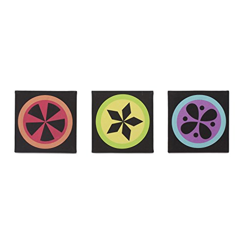 One Grace Place Magical Michayla Canvas Art, Black, Pink, Turquoise, Orange, Green, Purple