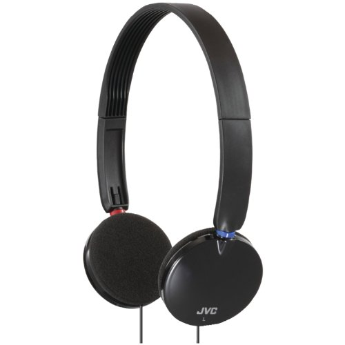 Jvc Has140B Lightweight On-Ear Headband Headphones (Black)