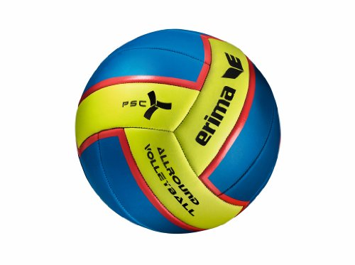 erima Volleyball Allround, Blau/Lime, 5, 740301