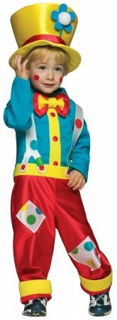 Rasta Imposta Clown Boy Toddler Costume - Toddler 3T-4T