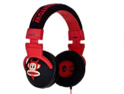Skullcandy S6HEDZ-133 Over-Ear Headphone (Black/Red)