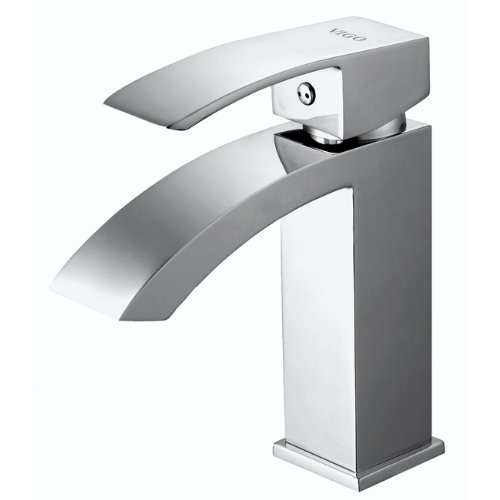 Vigo VG01015CH Single Handle Faucet, Chrome