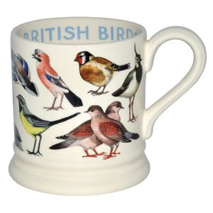 Emma Bridgewater New Half Pint Mug British Birds